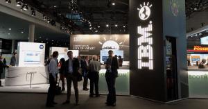 IBM stand en trade shows
