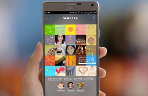 La nueva red social de Samsung se ha bautizado con el nombre de Waffle.