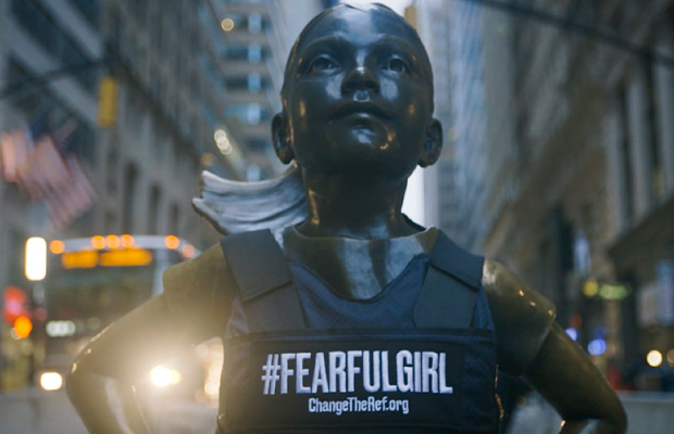 Destacada Fearless Girl #FearfulGirl