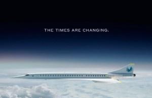 Destacada Overture avion supersonico Boom