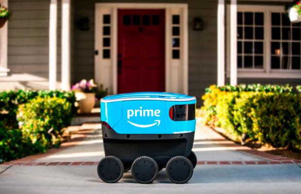 Destacado Amazon Scout robot autonomo repartidor