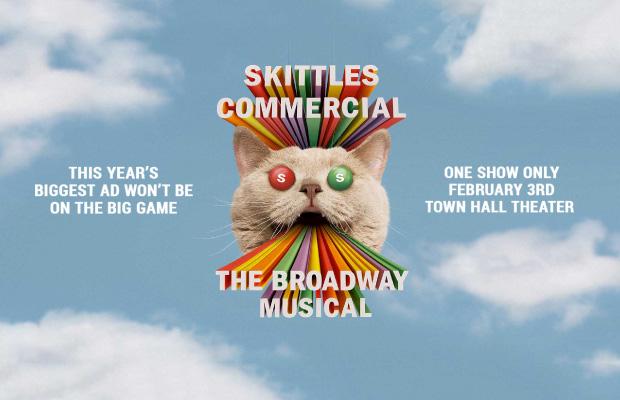 Destacado Skittles Superbowl 2019 musical Broadway