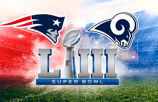 Destacado tendencias comerciales Super Bowl LIII