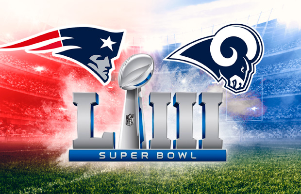 Destacado tendencias comerciales Super Bowl LIII