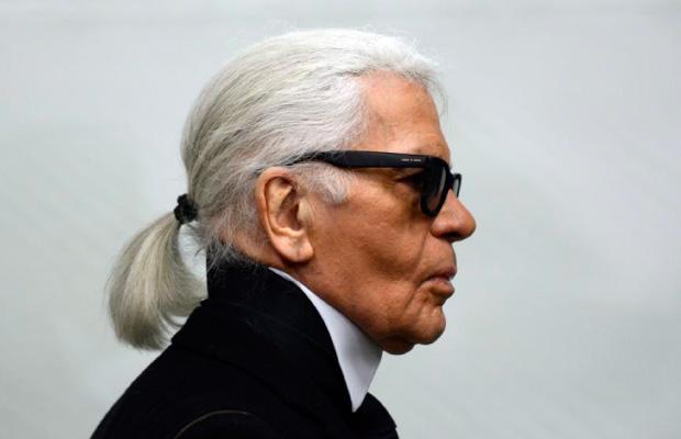 Destacado Karl Lagerfeld icono moda y publicidad