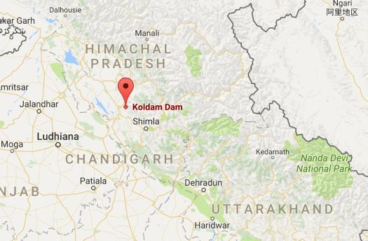 Koldam Dam Himachal Pradesh