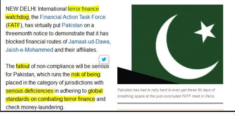 pakistan - fatf