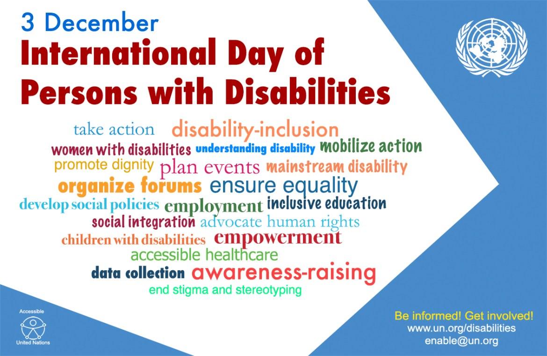 international disability day