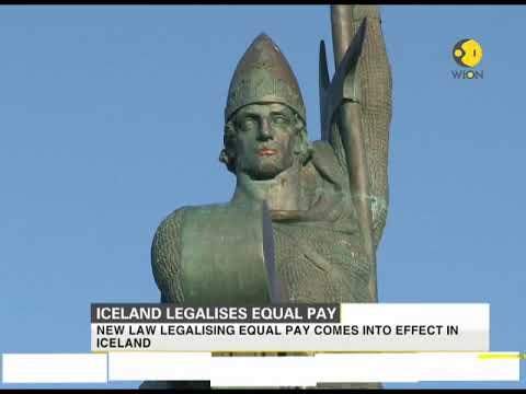 iceland legalises equal pay