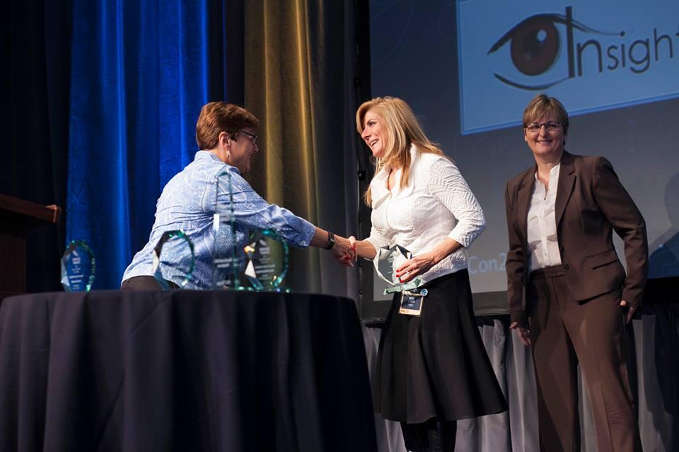 Kim Dixon of Insights Marketing Solutions wins award