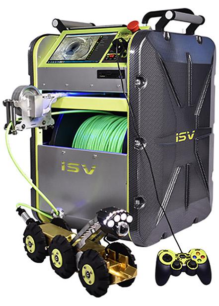IRIS Portable Mainline Crawler System