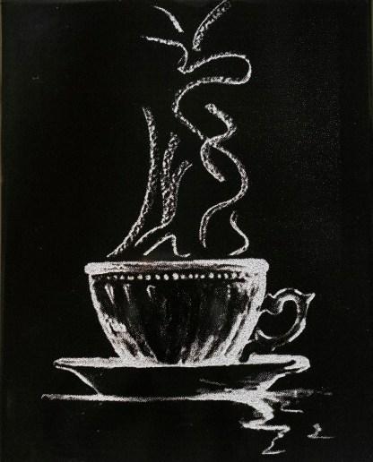 Höyryävä kahvi