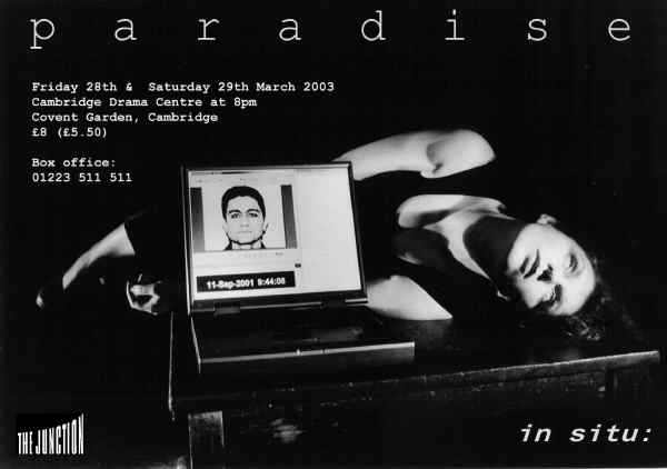 in situ: Paradise publicity poster
