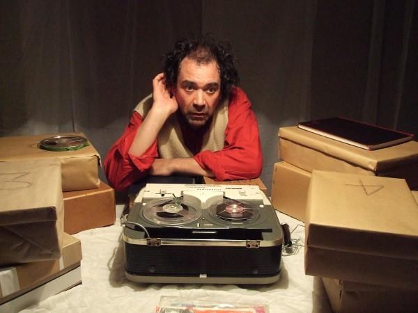 Mark Sparrow in Krapp's Last Tape, 2007