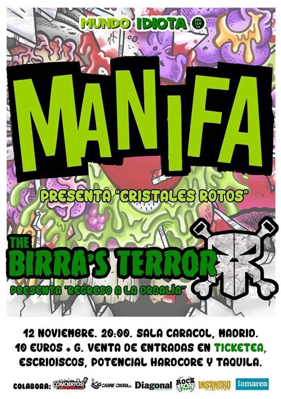 cartel-concierto-manifa-the-birras-terror