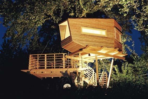 casas na arvore 5 Sempre quis ter uma casa na árvore