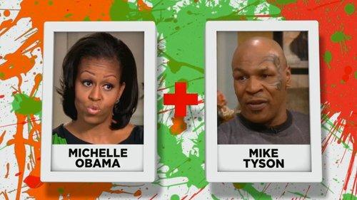Michelle Obama + Mike Tyson
