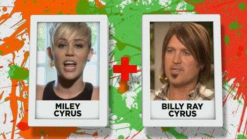 Miley Cyrus + Billy Ray Cyrus