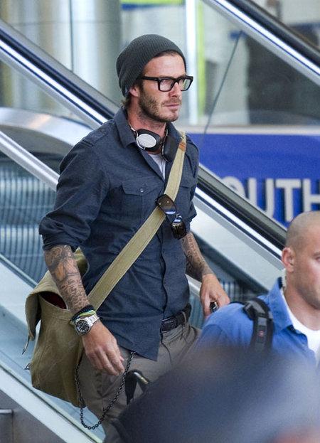 Beckham at LAX