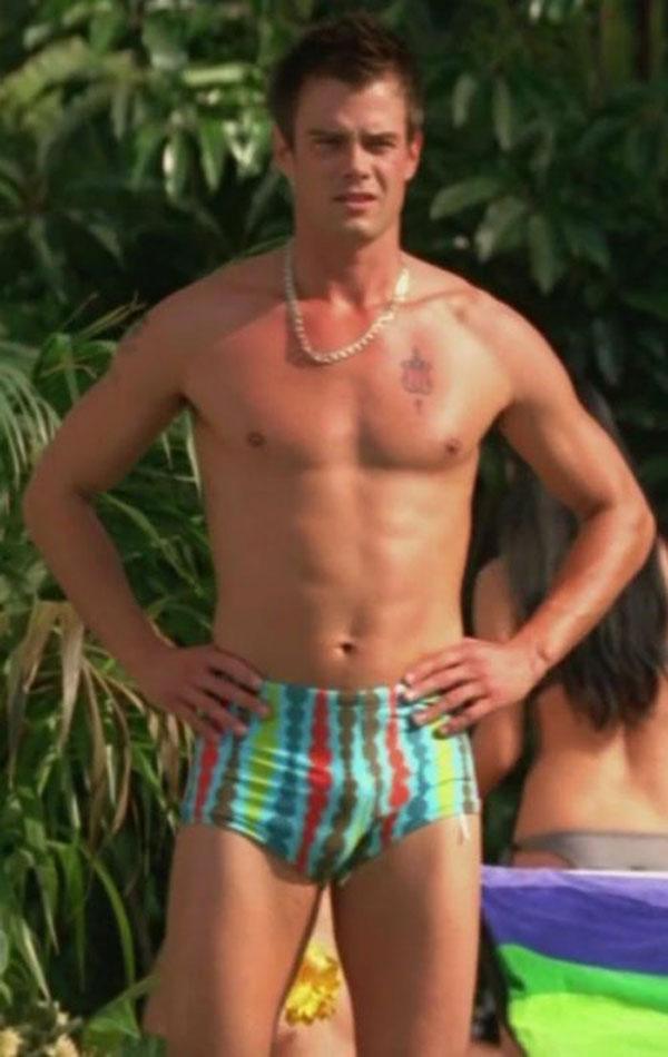 josh duhamel shirtless