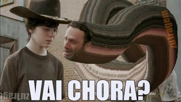 vai chorar walking dead