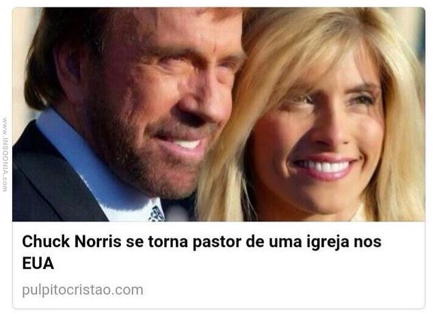 chuck norris pastor