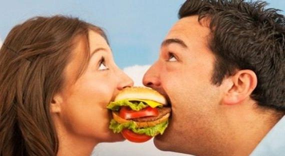 relacionamento comida