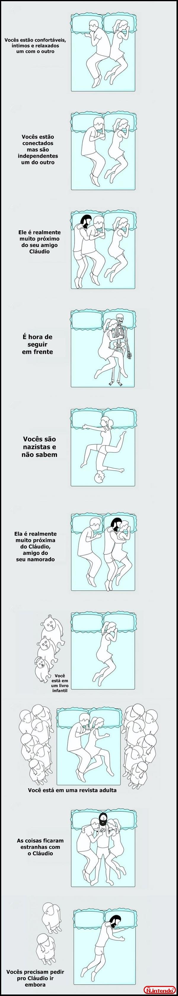 posição do casal