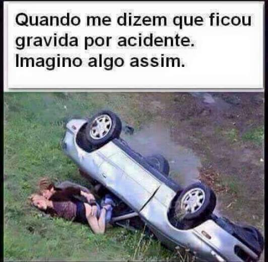 gravidez por acidente