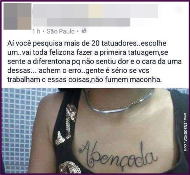 primeira tatuagem