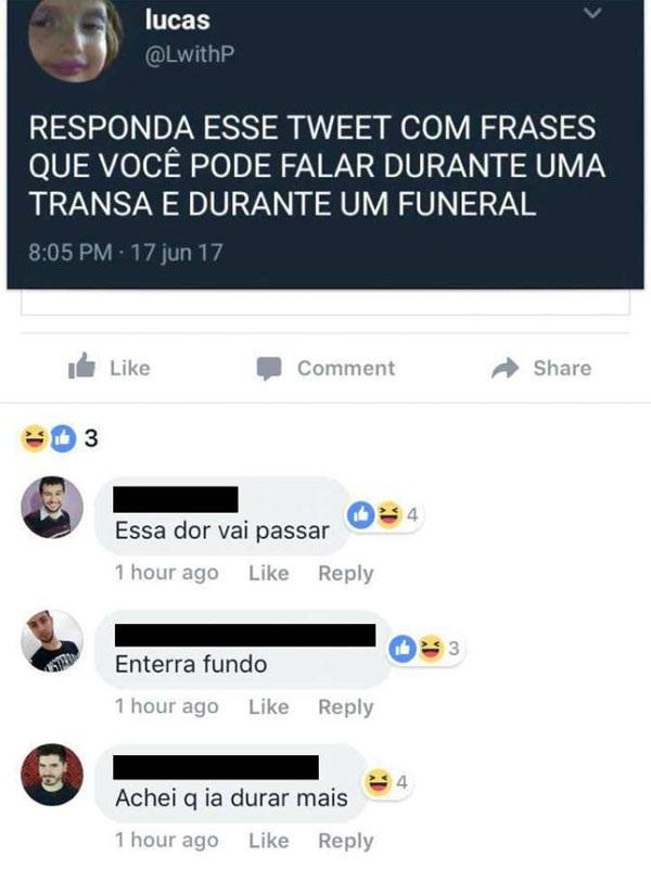 Funeral e transa