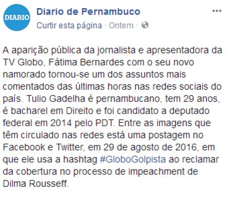 namorado de Fátima Bernardes