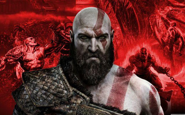 Kratos sem barba