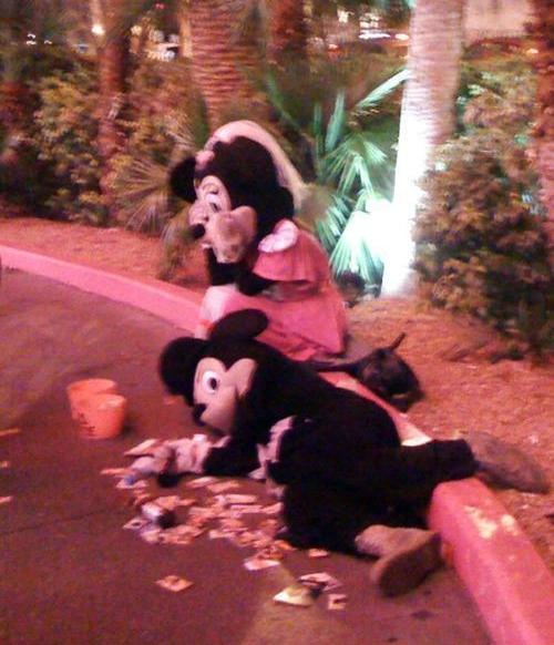 Mickey traído