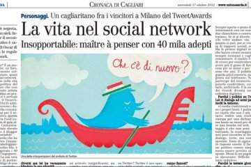 La vita nel social network. (grazie a Francesco Abate)