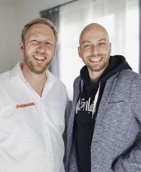 Matthias Bergmann und Sebastian Daume