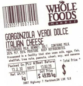 Gorgonzola Verdi Dolce - Whole Foods Market