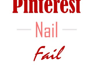 Pinterest Nail Fail: Lunch Break Makeover