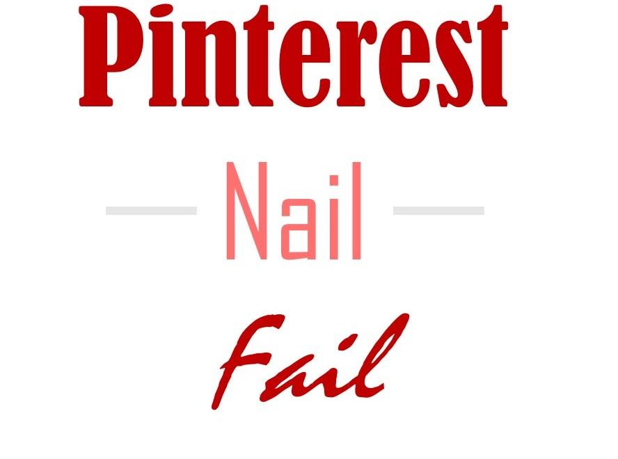 Pinterest Nail Fail