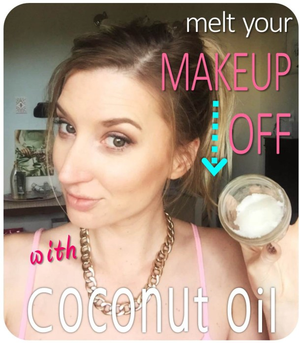 Coconut Oil: The New Duct Tape  {and makeup remover}