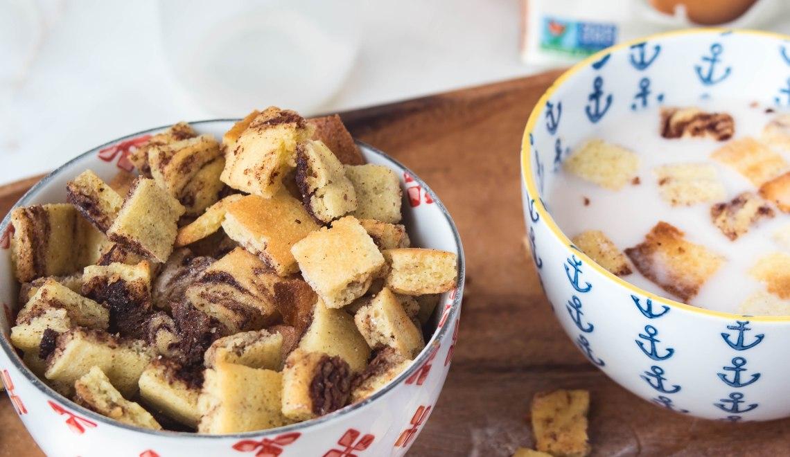 Gluten Free Cinnamon Swirl Cereal