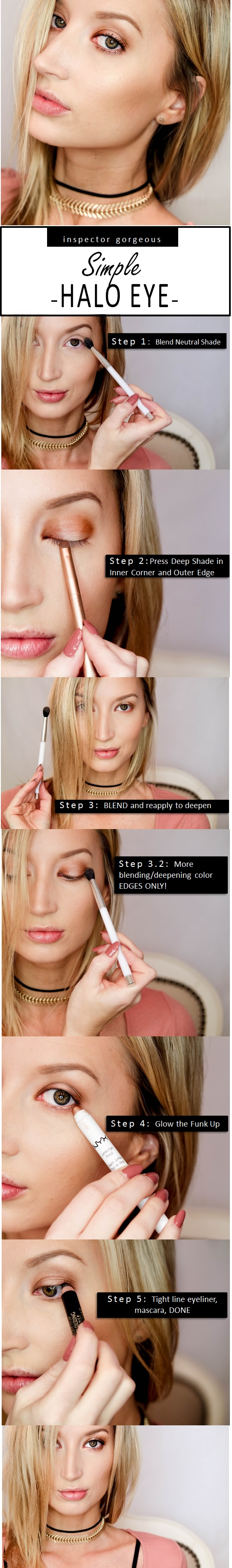 Halo Eye Shadow Tutorial