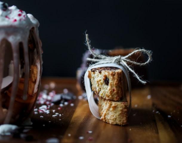 Peppermint Biscotti