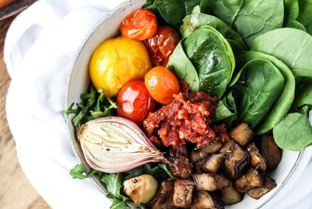 Roasted Veggie Buddha Bowl-0485