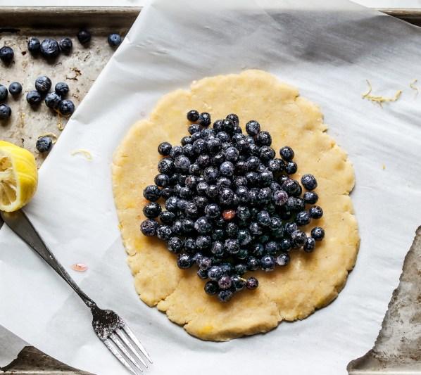 Gluten Free Blueberry Galette-2355