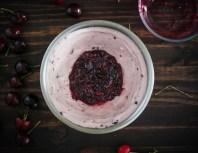 Cherry Chocolate Ice Cream Cake -3987