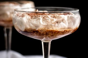 Greek Yogurt Tiramisu for 🥂Two {Low Carb & GF}