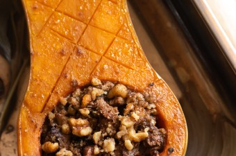Holiday Prep with FoodSaver🍂Mushroom & Sage Stuffed Squash