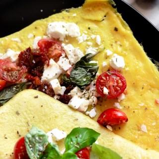 Easy Mediterranean Omelet