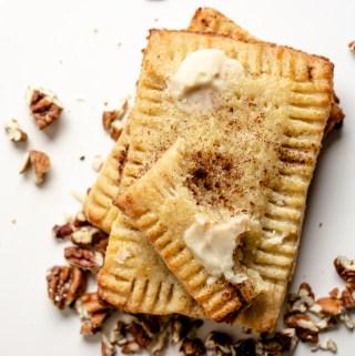 Cinnamon Pecan Pop Tarts Gluten Free Keto